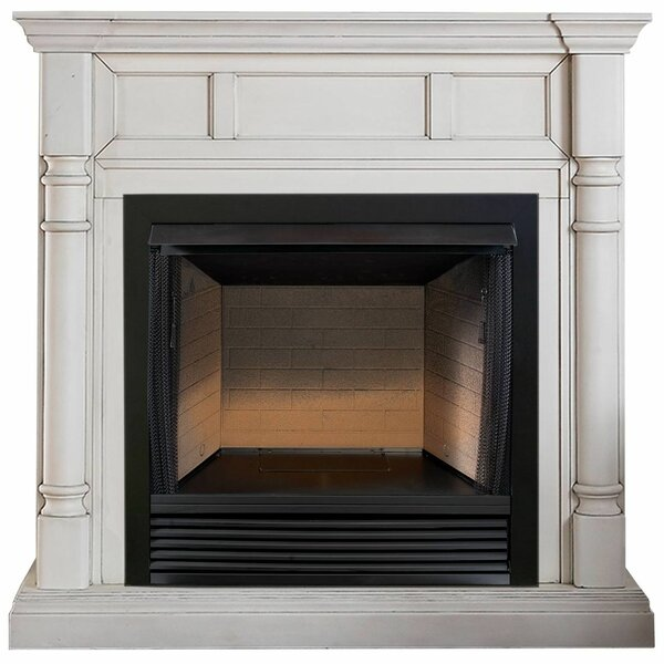 Heating Vent Free Propane/Natural Gas Fireplace by ProCom ProCom
