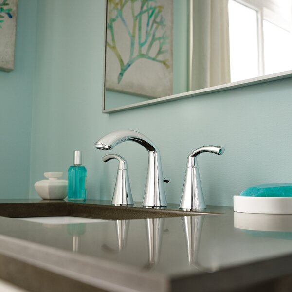 Glyde Widespread Bathroom Faucet by Moen