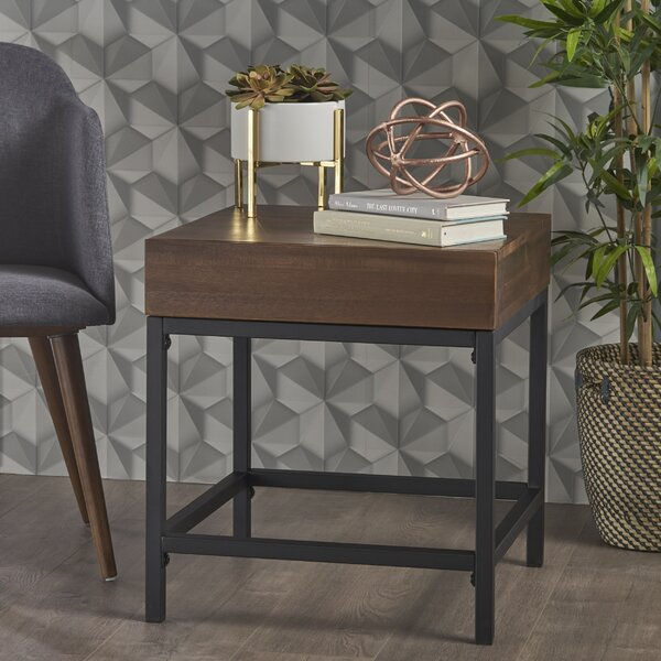 Alleen End Table With Storage By Williston Forge
