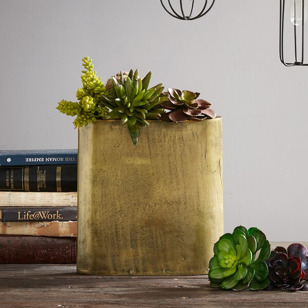 Pannell Table Vase by Bungalow Rose