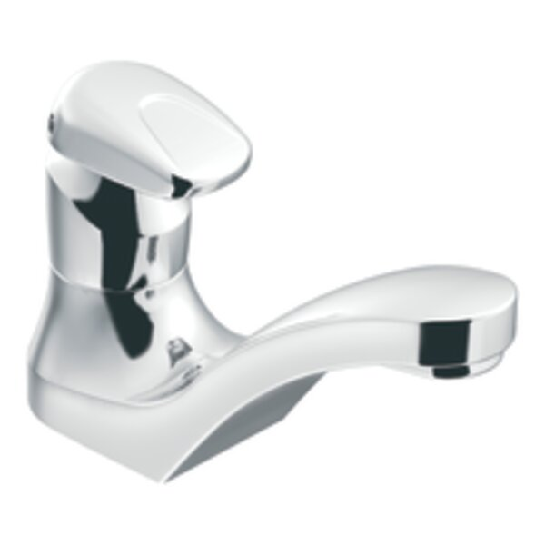 M-Press Single Hole Bathroom Faucet by Moen