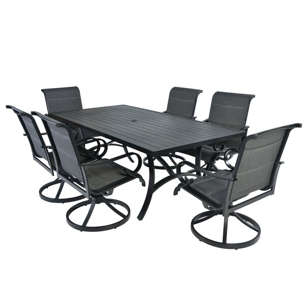 Cordle 7 Piece Dining Set by Darby Home Co