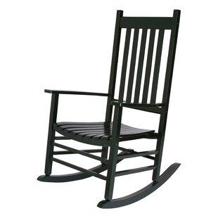 Black Patio Rocking Chairs U0026 Gliders Youu0027ll Love | Wayfair