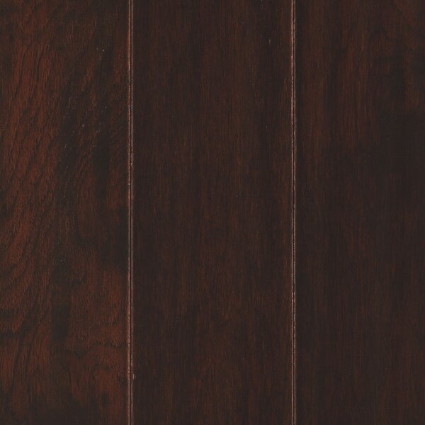 Kendra 5 Engineered Hickory Hardwood Flooring in Brown by Welles Hardwood