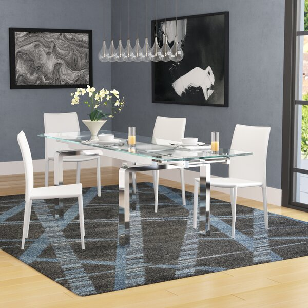 Evelina Extendable Dining Table by Latitude Run