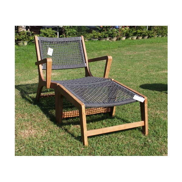 Kavita Patio Chair by Bungalow Rose Bungalow Rose