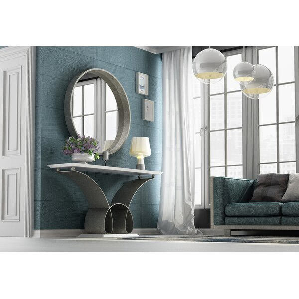 Koski Console Table And Mirror By Everly Quinn