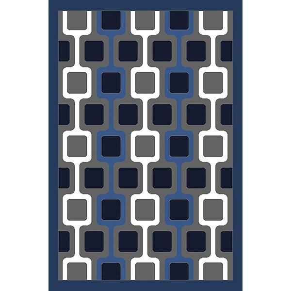 Cosner Blue/Gray Area Rug by Ebern Designs