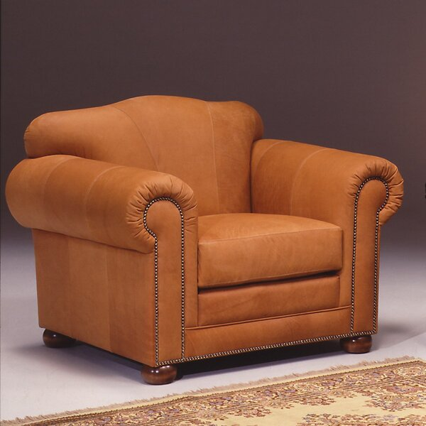 Sedona Leather Armchair by Omnia Leather