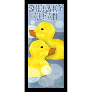 'Squeaky Clean II Poster'  by Beth Albert Framed Graphic Art by Buy Art For Less