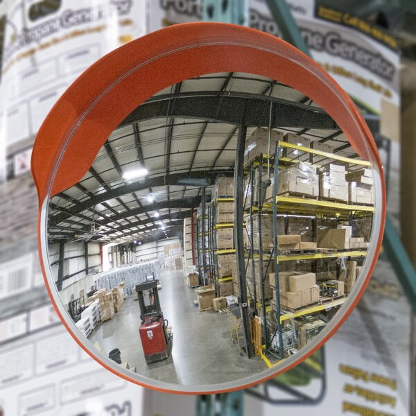 Stemple Convex Safety Accent Mirror by Brayden Studio