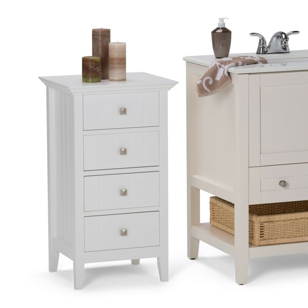 Acadian 18 W x 32.09 H Cabinet by Simpli Home
