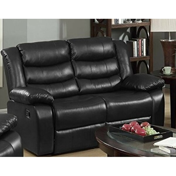 Musso Reclining Loveseat by Winston Porter