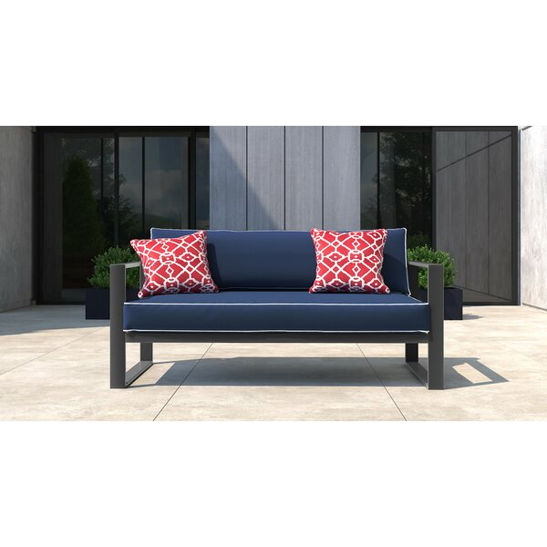 Monterey Patio Sofa with Cushion by Tommy Hilfiger Tommy Hilfiger