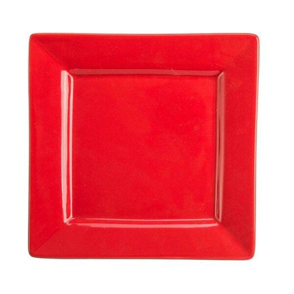 Seasons 7.25 Square Rim Plate (Set of 4) by BIA Cordon Bleu