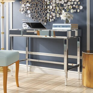 Buy clear Guidinha Writing Desk By Willa Arlo Interiors