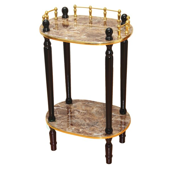 2-Tiered End Table by Uniquewise