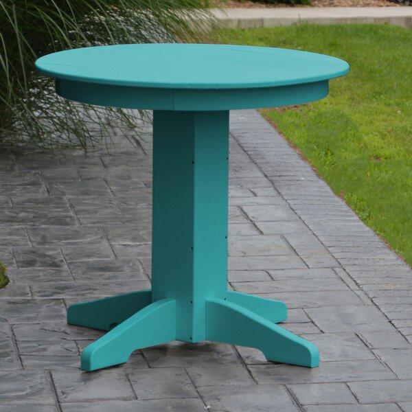 Nettie Plastic/Resin Dining Table by Red Barrel Studio Red Barrel Studio