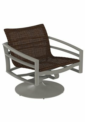 Kor Woven Swivel Action Patio Chair by Tropitone
