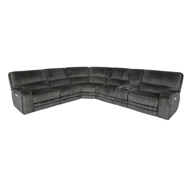 Ferber Power Reclining Sectional by Red Barrel Studio