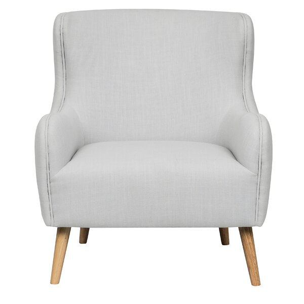 Ordway Tufted Back Upholstered Armchair by Wrought Studio