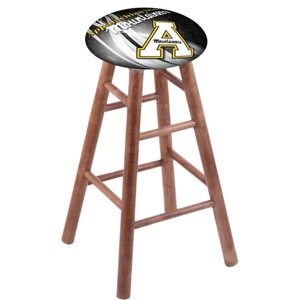 NCAA Team 24 Maple Counter Stool by Holland Bar Stool