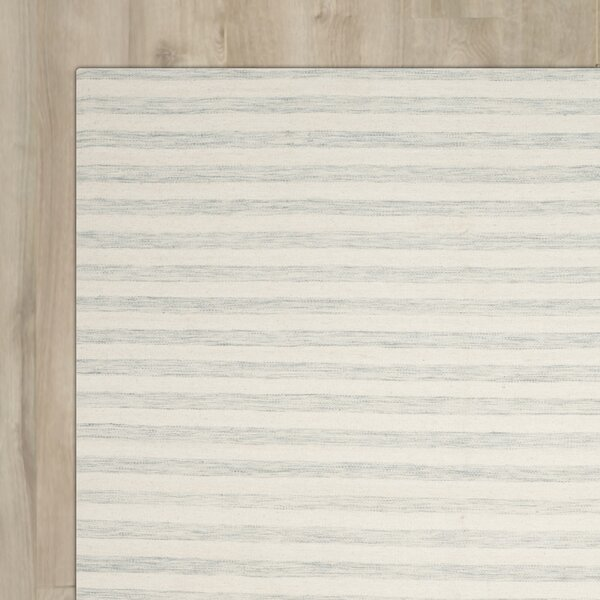 Crawford Hand-Woven Light Blue/Ivory Area Rug by Brayden Studio