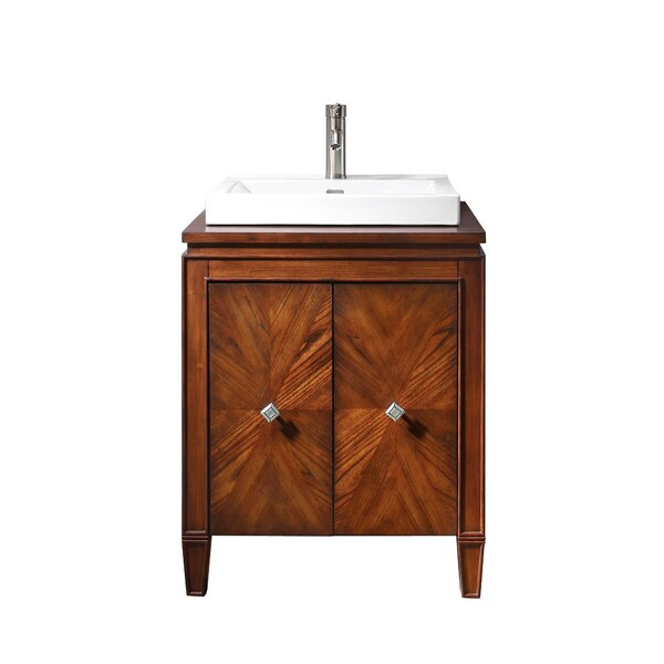 Quesenberry 25 Single Bathroom Vanity Set by World Menagerie