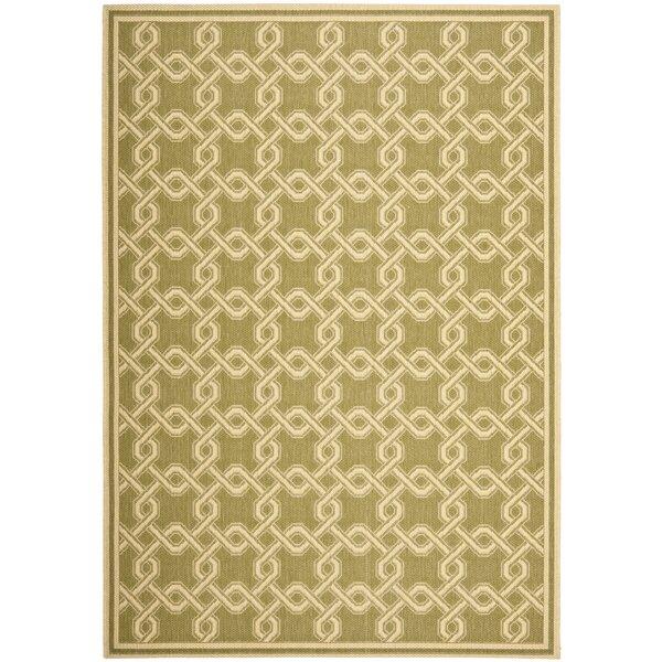 Green/Cream Area Rug by Martha Stewart Rugs