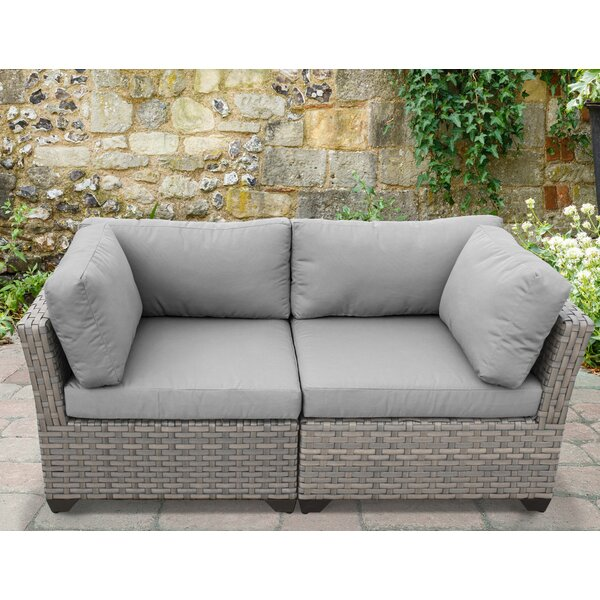 Rochford Patio Loveseat with Cushions by Sol 72 Outdoor