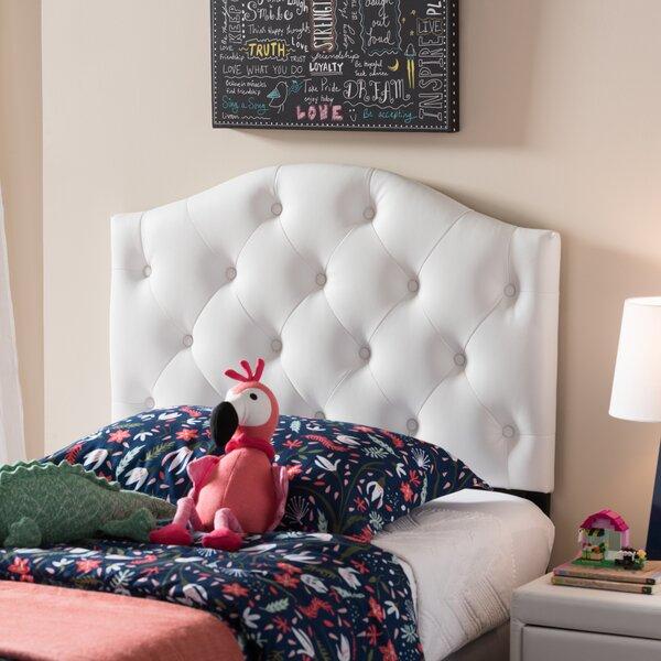 Doyal Twin Upholstered Panel Headboard by Harriet Bee