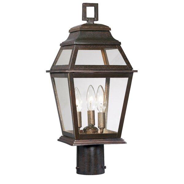 Outdoor 3-Light Lantern Head by Latitude Run