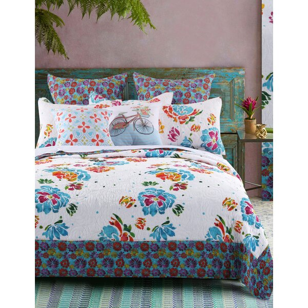 Burgos Reversible Quilt Set by Bungalow Rose