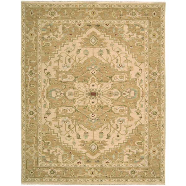 Leavittsburg Beige Area Rug by Darby Home Co