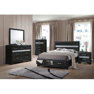 Jules Platform Configurable Bedroom Set by Mercer41