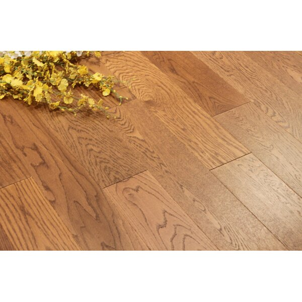 Chicago 5 Engineered Oak Hardwood Flooring in Brindle by Albero Valley