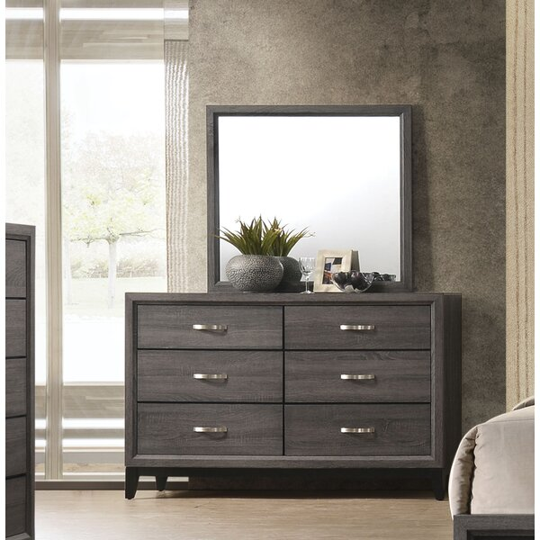 Beare 6 Drawer Dresser with Mirror by Ivy Bronx