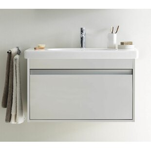 Big Save Ketho 26 Wall-Mounted Single Bathroom Vanity By Duravit