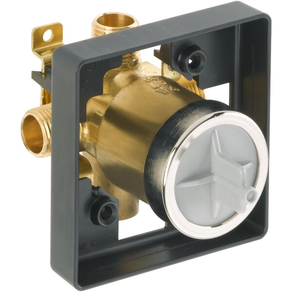 MultiChoice 4 x 4 Universal Shower Valve Body by D