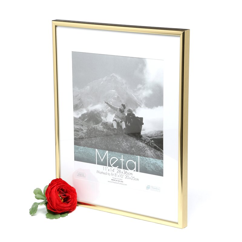 Contemporary Matted Picture Frames 11x14 Photos Picture