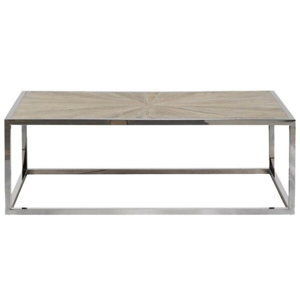 Theodore Metal Frame Coffee Table by Foundry Select