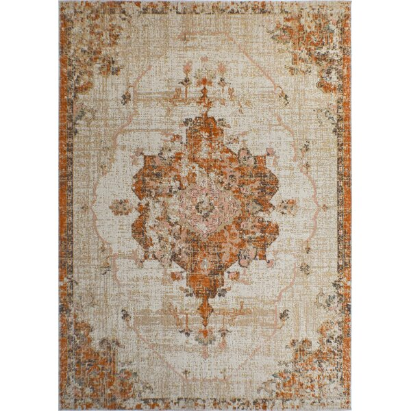 Julianna Brown/Beige Indoor/Outdoor Area Rug by Bungalow Rose