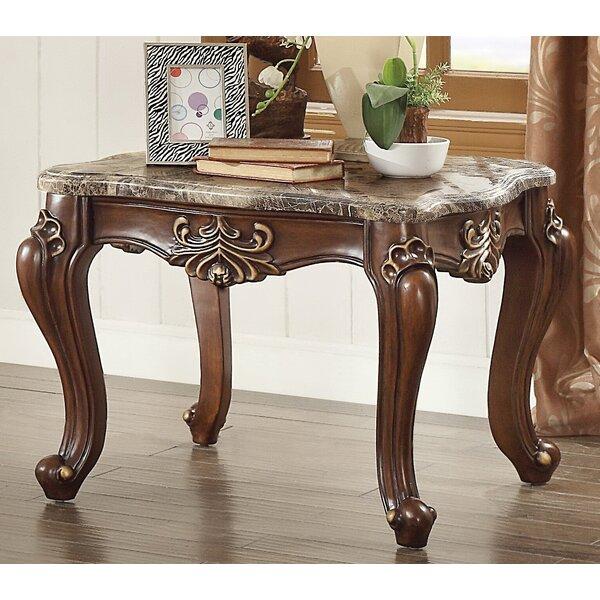 Roark End Table by Fleur De Lis Living