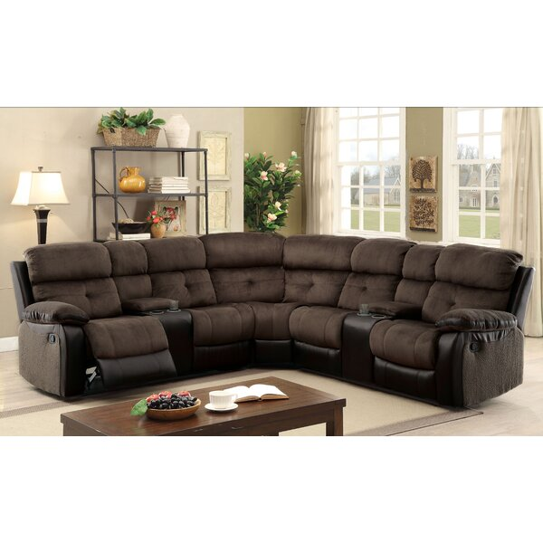 Compare Price Marksbury Symmetrical Reclining Sectional