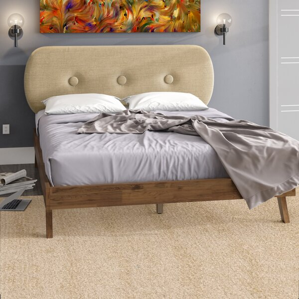 Steen Upholstered Platform Bed by Trule Teen