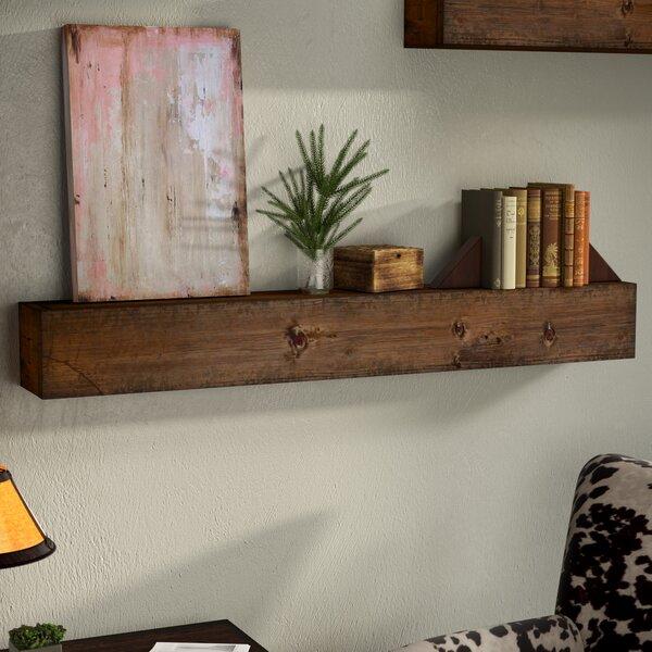Zimmerman Wood Mantle Floating Shelf by Union Rustic