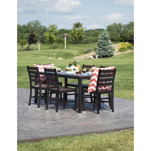 Azhineh 7 Piece Bar Height Dining Set by Latitude Run