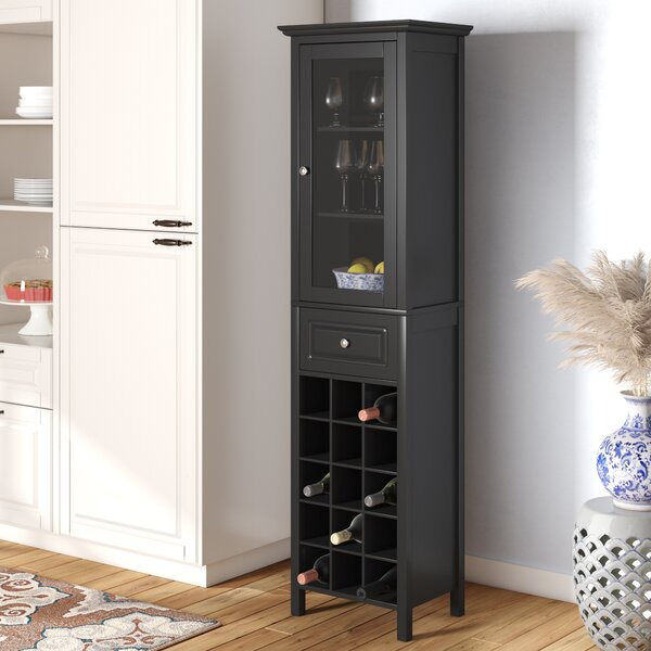 Burley Bar with Wine Storage by Andover Mills Andover Mills