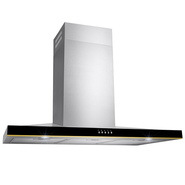36 380 CFM Ducted Wall Mount Range Hood by AKDY