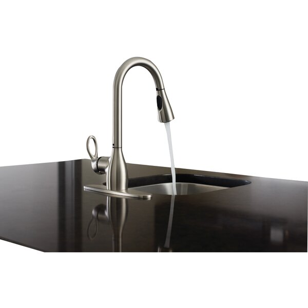 Kleo Single Handle Kitchen Faucet with Reflex™ and Duralock™ by Moen